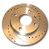 Corolla Verso 2.2 D4D Grooved Drilled Brake Discs Front