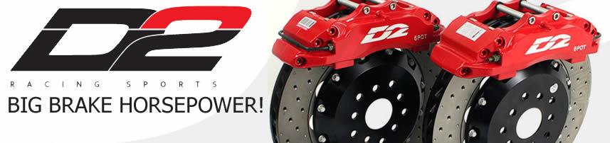 D2 racing 380 mm big brake kit 8 pot